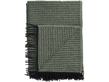 Roros Tweed - Frogner Decke - green