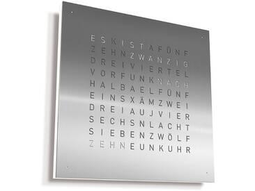 Biegert&Funk - Qlocktwo Classic - deutsch - edelstahl