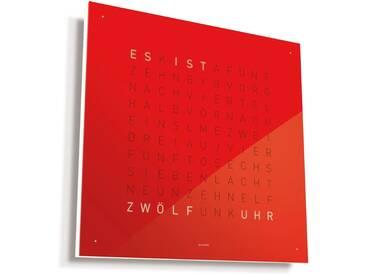 Biegert&Funk - Qlocktwo Classic - deutsch - rot