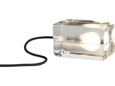 Design House Stockholm - Block Lamp - schwarzes Kabel