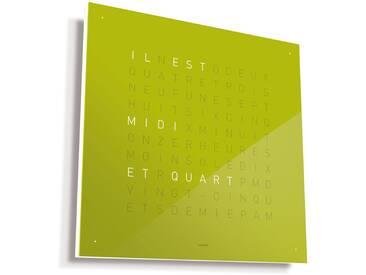 Biegert&Funk - Qlocktwo - französisch - grün