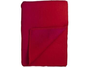 Roros Tweed - Berg Decke - red-pink