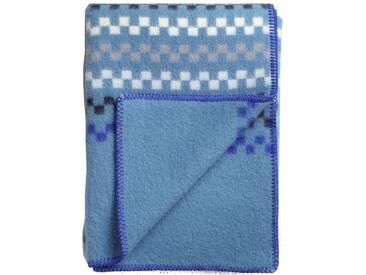 Roros Tweed - Toskaft Decke - blue-blue