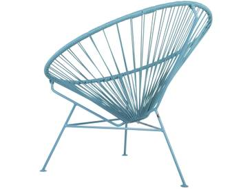 OK Design - Condesa Stuhl - All Pigeon Blue