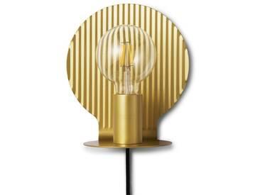 Normann Copenhagen - Plate Wall Lamp - Gold