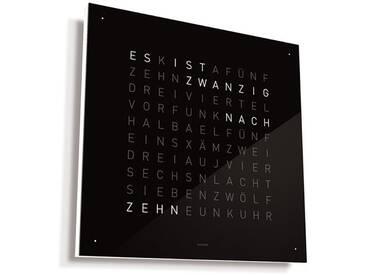 Biegert&Funk - Qlocktwo Large - Edelstahl schwarz