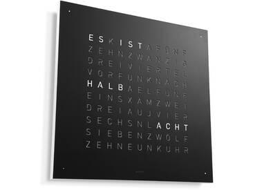 Biegert&Funk - Qlocktwo Classic - deutsch - Edelstahl schwarz