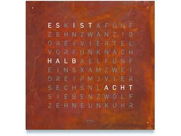 Biegert&Funk - Qlocktwo CREATOR´S EDITION - deutsch - rost