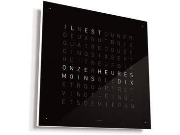 Biegert&Funk - Qlocktwo - französisch - schwarz