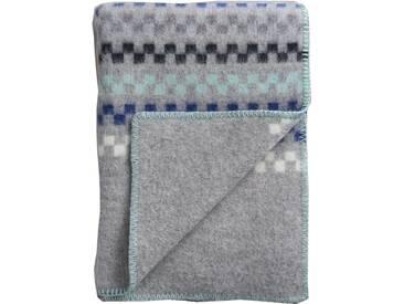 Roros Tweed - Toskaft Decke - grey-turquoise