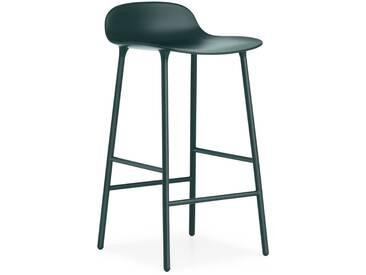 Normann Copenhagen - Form Barstuhl - 65 cm - grün