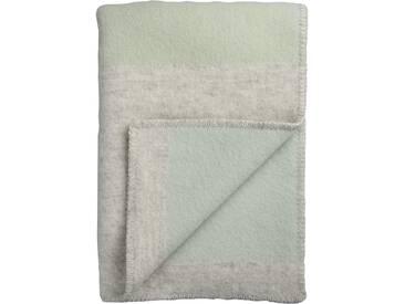 Roros Tweed - Bergstaden Decke - olive-mint