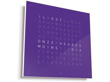 Biegert&Funk - Qlocktwo - französisch - violett