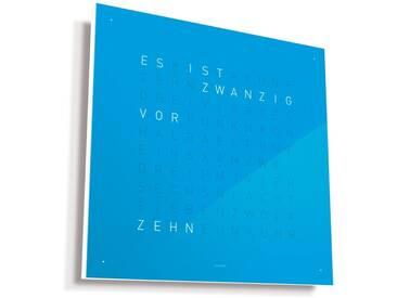 Biegert&Funk - Qlocktwo Classic - deutsch - blau