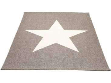 Pappelina - Viggo Star Teppich - schlamm metallic - 180 x 230 cm