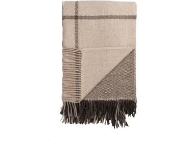 Roros Tweed - Filos Decke - brown