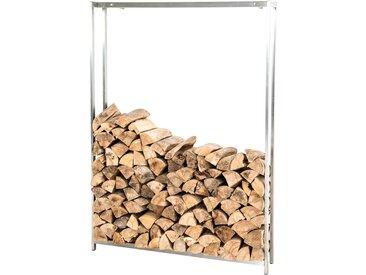 Kaminholzständer Forest-edelstahl-125x95 cm