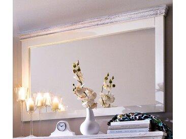 Garderobenspiegel Opus in Kiefer weiß massiv 124 cm