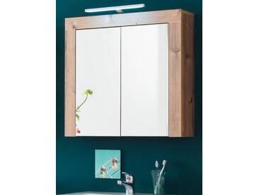 Spiegelschrank Tirol Bramberg Fichte Dekor Badmöbel 68 x 64 cm