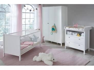 Babyzimmer Ole in weiß komplett Set 3-teilig