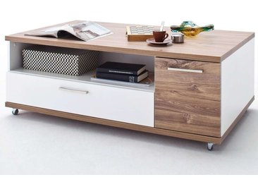 MCA, Couchtisch Luzern  Tischplatte: Sterling Oak Melamin Nachbildung Kanten ABS Tischplatte: Sterli