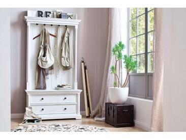 Novasolo, Garderobe Provence, Landhausstil, 3 Schubladen, 5 Haken,