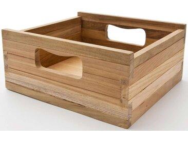 NOVASOLO, Teak Kiste klein  natur Teak