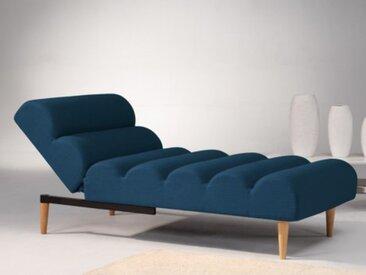 Relaxliege Longchair CIVAL - Blau