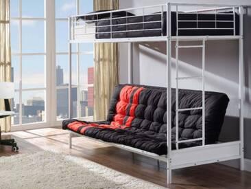 Ikea Etagenbett Weiß Metall : Wunderbar ikea hoch bett hochbett metall swalif