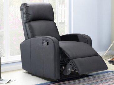Relaxsessel Fernsehsessel ISAO - Schwarz