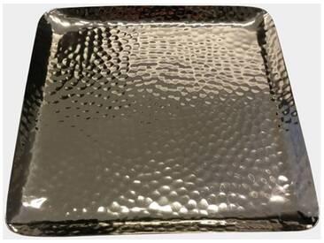 ZAWOH Dekotablett Aluminium poliert
