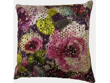 ZAWOH Kissen Flowers violet