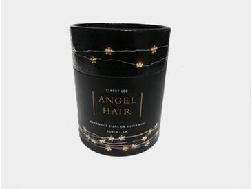 ZAWOH LED Angel Hair Lichterkette mit Sternen