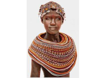Thomas Albrecht Gobelinbild Samburu Girl weiß