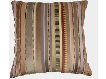 ZAWOH Kissen Stripes brown