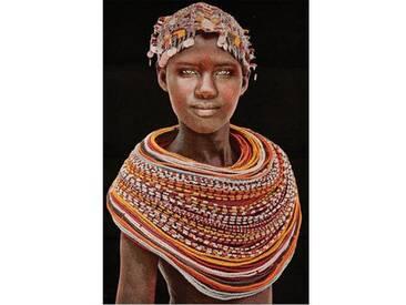 Thomas Albrecht Gobelinbild Samburu Girl schwarz