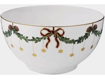 Royal Copenhagen Star Fluted Christmas Schüssel