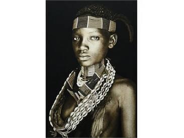 Thomas Albrecht Gobelinbild Hamar Lady Äthiopien