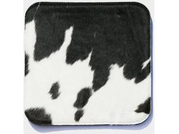 Thomas Albrecht PAD 10 Kuhfell schwarz-weiß 35x35 cm - Einzelstück