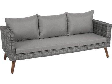 Greemotion Sofa Gomera 3-Sitzer inkl. Sitz- und Rückenkissen