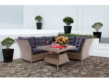 Esstisch Lounge-Gruppe Madison 4-teilig