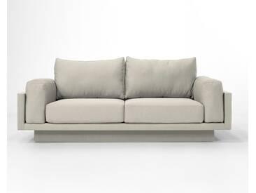 3-Sitzer-Sofa Schlafsofa Verwandlungssofa CLOUD-B Honey gelb Verlourstoff / Mikrofaser, sehr pflegeleicht, 214cm breit
