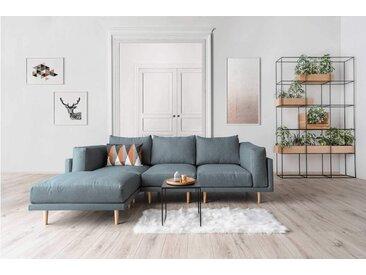 Modulares Scandi Style Sofa CLOOODS, pastell blau, 262cm breit