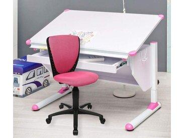 Kinderschreibtisch Set VARIANT mit Stuhl High S`Cool pink