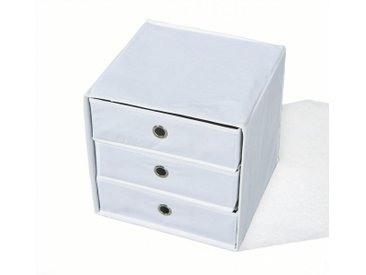 Faltbox WILLY Aufbewahrungs-Box mit 3 Schubladen, verschiedene Farben