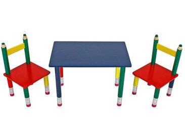 Kindertischgruppe Motiv Bleistift Tischgruppe für Kinder