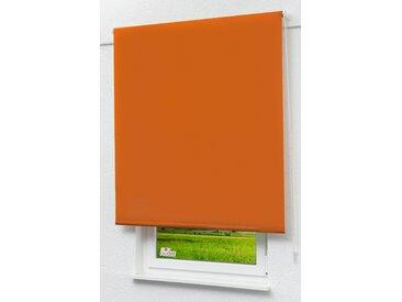 Seitenzugrollo Lysel Outlet - Verdunkelungsrollo Rotorange, (B x H) 102.50cm x 190cm in orange/rotorange