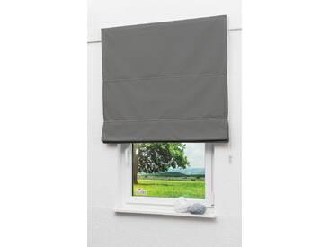 LYSEL Outlet Raffrollo grau, abdunkelnd mit Kettenzug, Maße: (Bx H) 100cm * 170cm