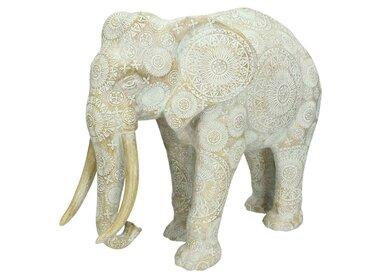 Tierfigur Elefant, Grau h: 31 cm