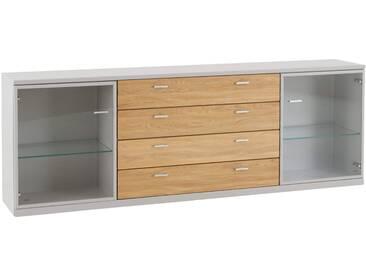 Sideboard Vakanca Weiss - 225x78x39 cm